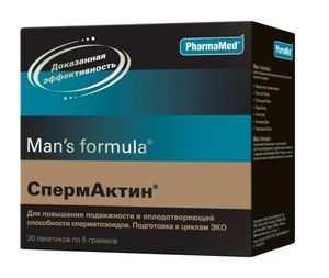 спермактин инструкция