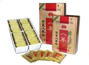 Имбирный чай с женьшенем