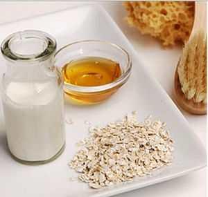 Скраб из соды и меда