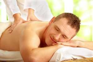 массаж мужчины
