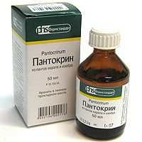 пантокрин инструкция