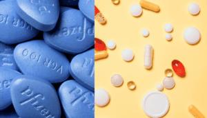 виагра с другими лекарствами